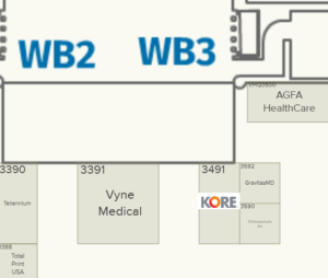 KORE Booth HIMSS 2019