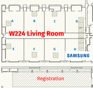 Samsung Booth HIMSS 2019