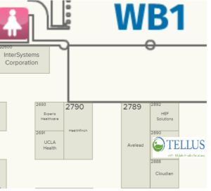 Tellus Booth HIMSS 2019